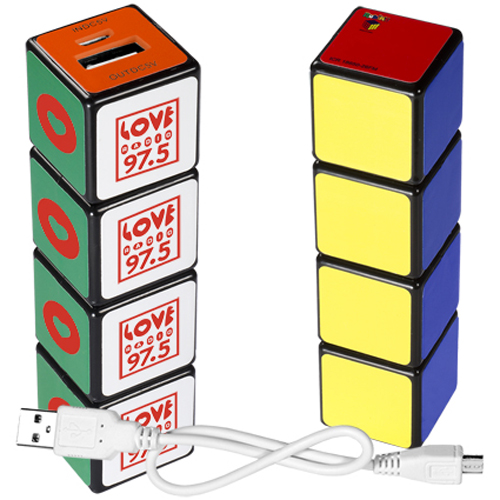 Promotional  Rubiks Mobile Charger