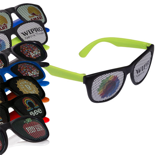Promotional LogoSpecs Matte Finish Fashion Sunglasses