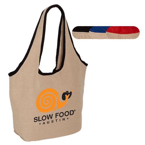 Promotional Soft Touch Juco Shopper