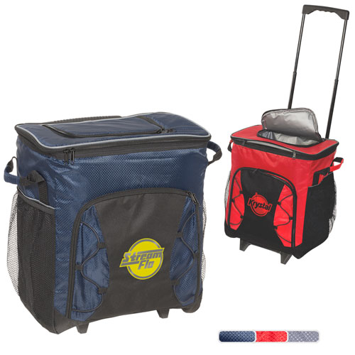 Promotional Diamond 54 Can Rolling Cooler