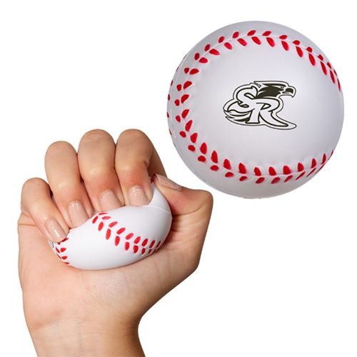 Promotional Baseball Super Squish Stress Reliever