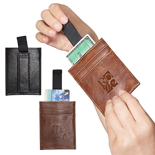 Sorrento RFID Wallet with Pull Tab