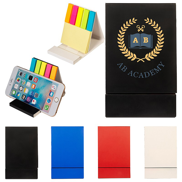 Duo Sticky Notepad & Phone Stand