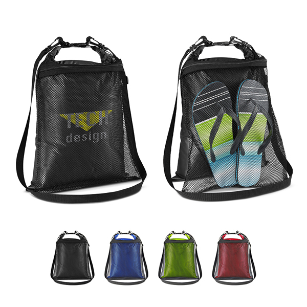 Promotional Mesh Water Resistant Wet/Dry Bag