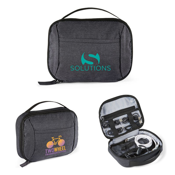 Promotional Tech Accessory Organizer Pouch
