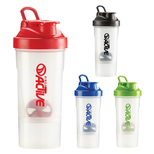 Promotional Shake-ItTM Compartment Bottle