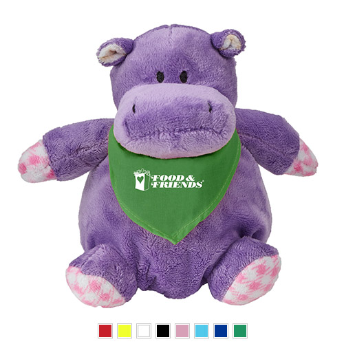 Promotional Hippo Stuffed Animal