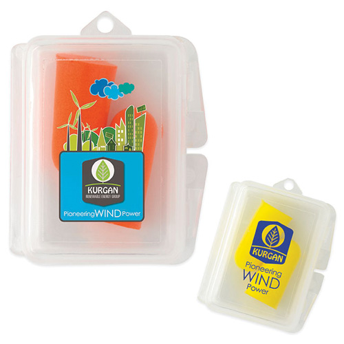 Promotional Travel Ear Plugs in Case