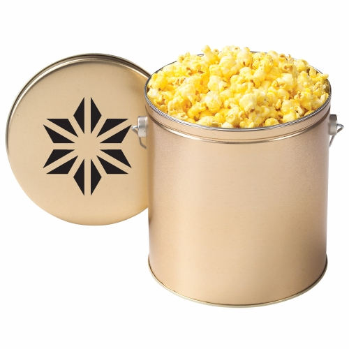Promotional Gallon Popcorn Tin