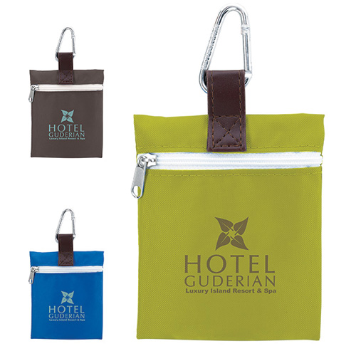 Promotional Vertical Strap Tee Pouch