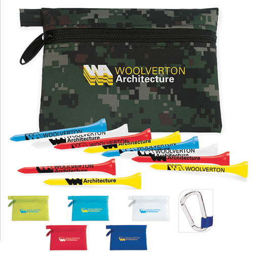 Promotional Links Pouch with Tees