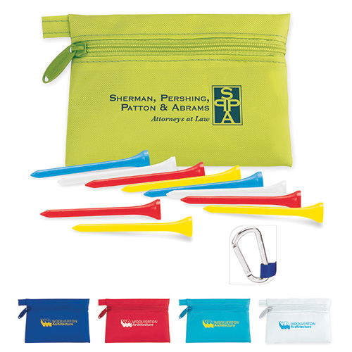 Promotional Links Pouch with Tees Value Pak