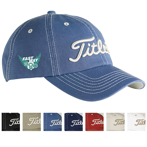 Promotional Titleist® Custom Contrast Stitch Cap