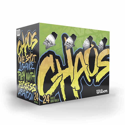 Promotional Wilson® Chaos - 24 Ball Pack Std. Serv.