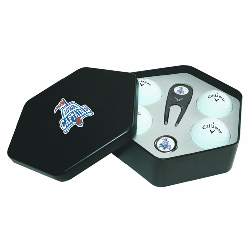 Promotional Callaway® 4-Ball HEX Gift Tin