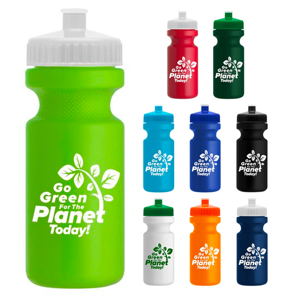 Promotional The Eco-Cyclist - 22 oz. Sports Bottle