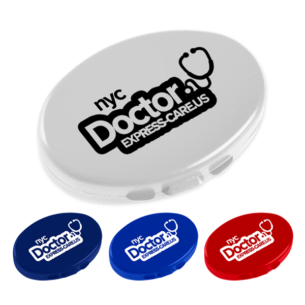 Oval Pillcase
