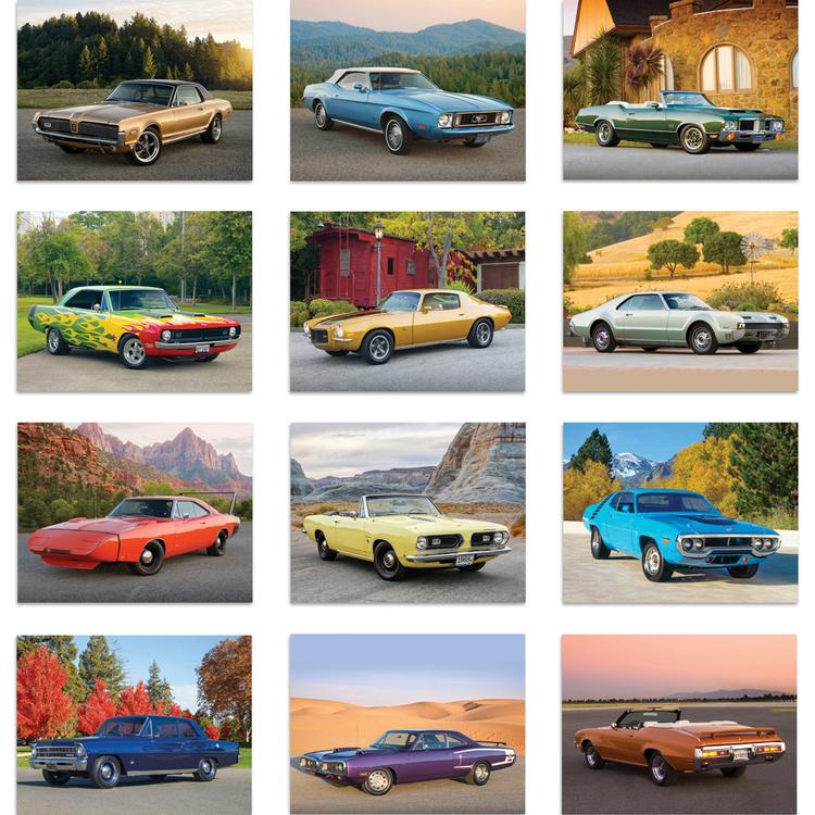 View Image 2 of Muscle Cars Calendar