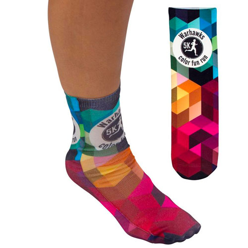 Promotional Full Color Tube Socks