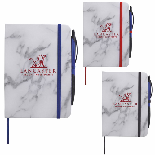 Promotional Marble Finish Journal