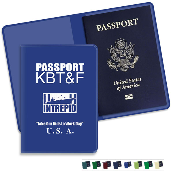 View Image 2 of Economy Passport Case