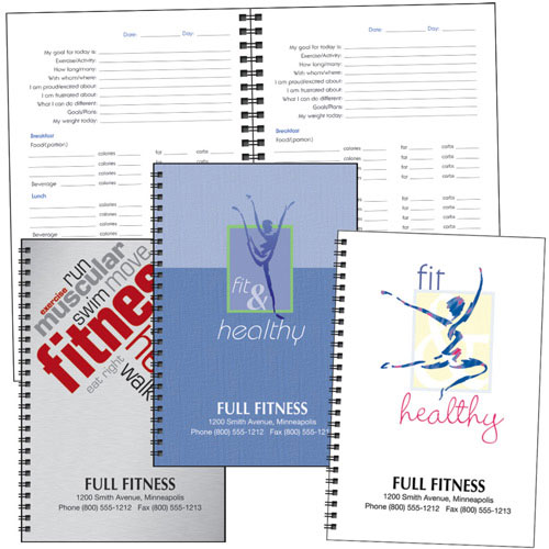 Promotional Food & Fitness Journal