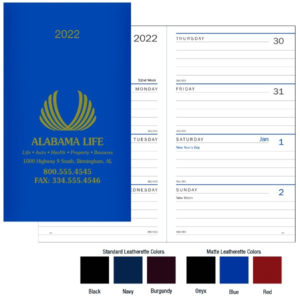 Promotional Classic Weekly Pocket Planner
