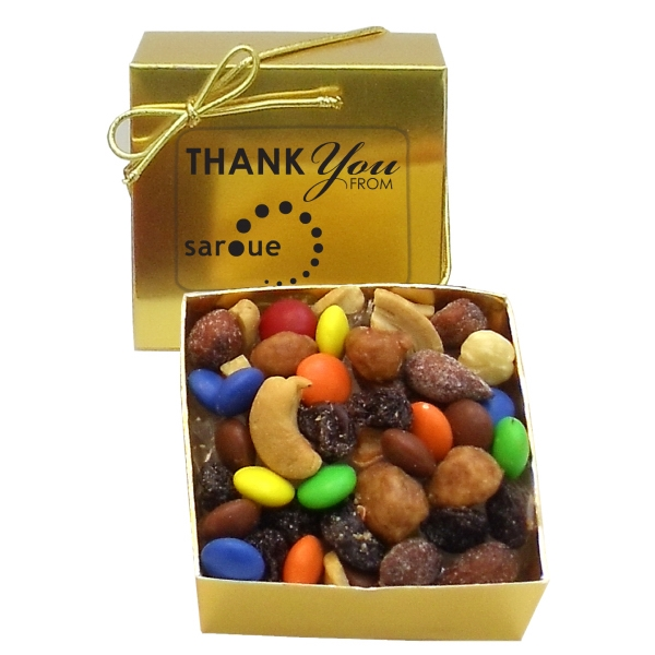 Promotional Sweet & Nutty Trail Mix in Ballotin Box
