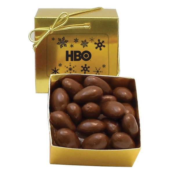 Promotional Chocolate Covered Almonds - Ballotin Box