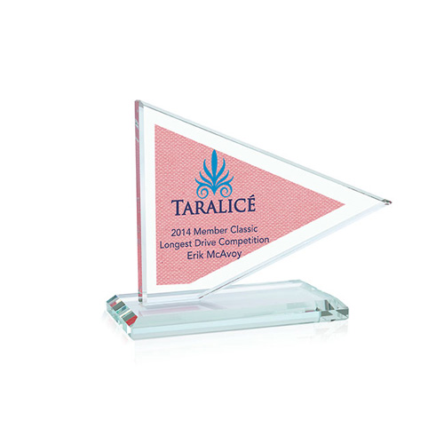 Promotional Pennant Flag Award - Small