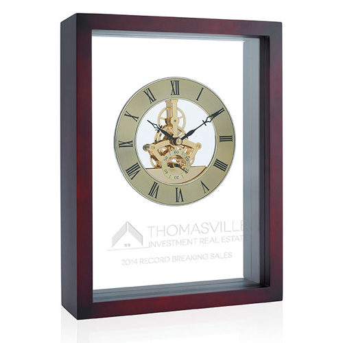 Promotional Shadow Box Clock