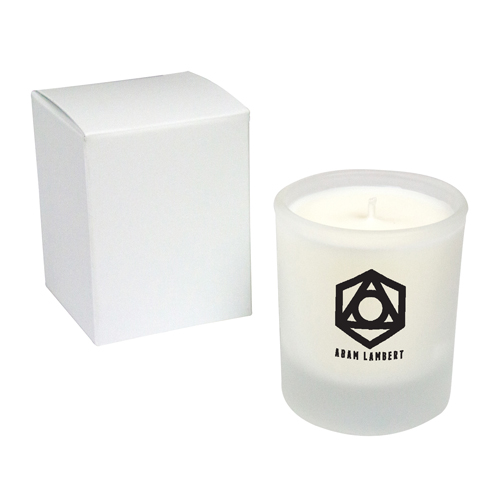 Promotional Frosted Votive Candle