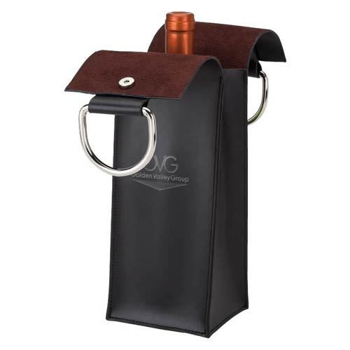 Promotional Leatherette Wine Carrier