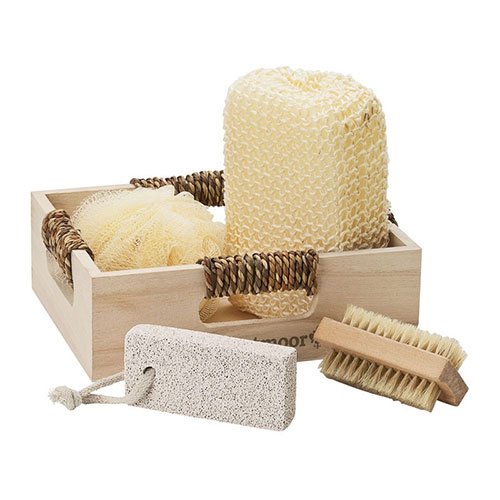 Promotional 4 Piece Spa Kit in Box