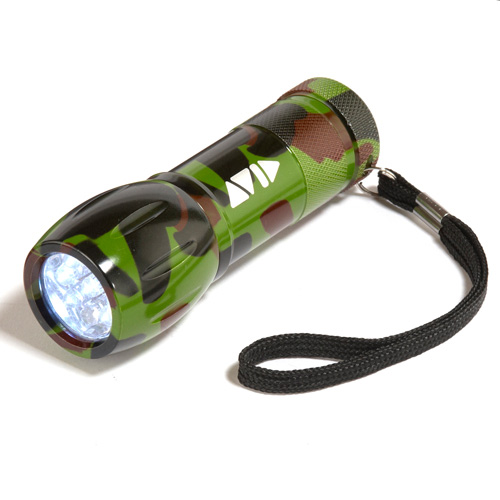Promotional Camouflage Flashlight