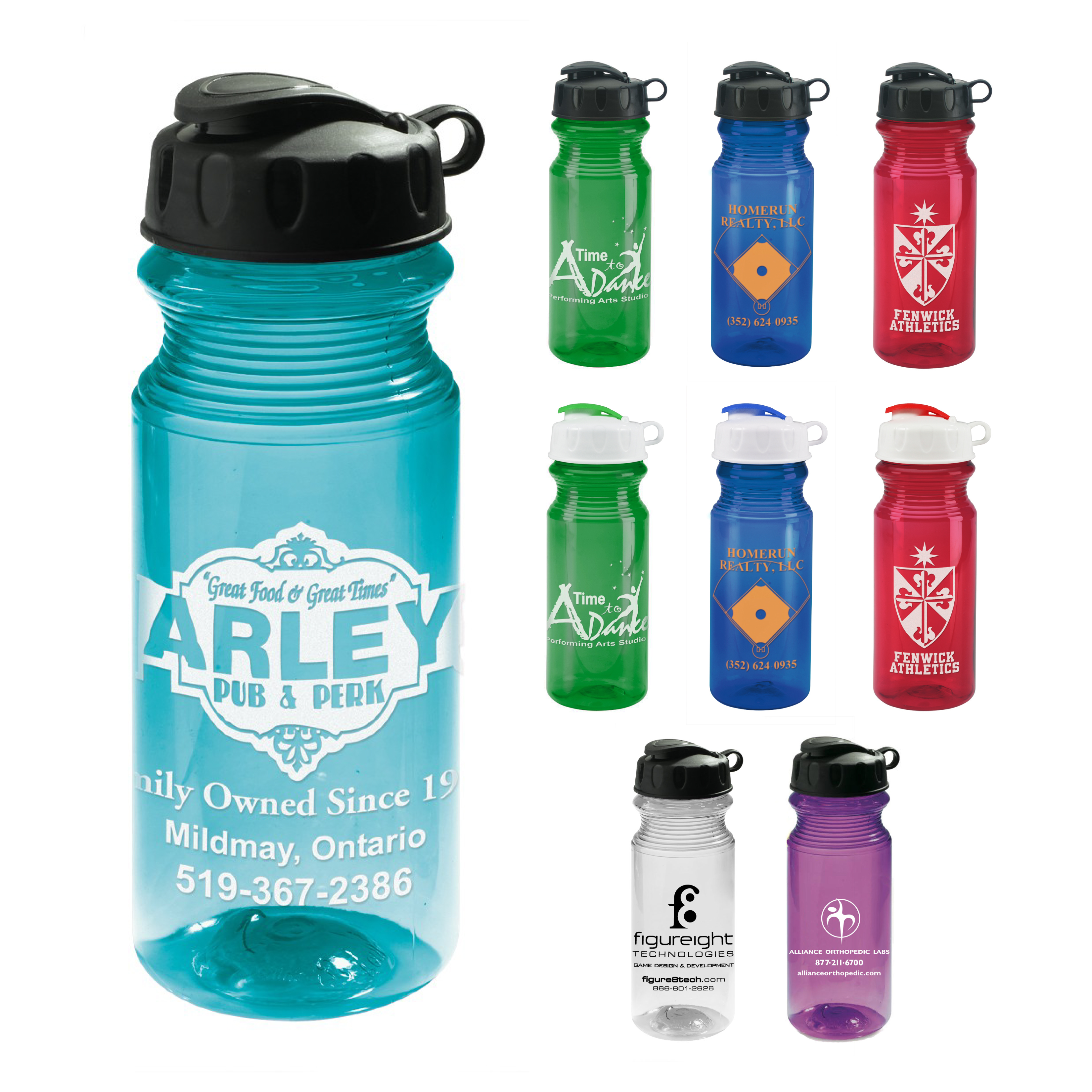 Promotional Eco Fresh Lite Sports Bottle 21 oz