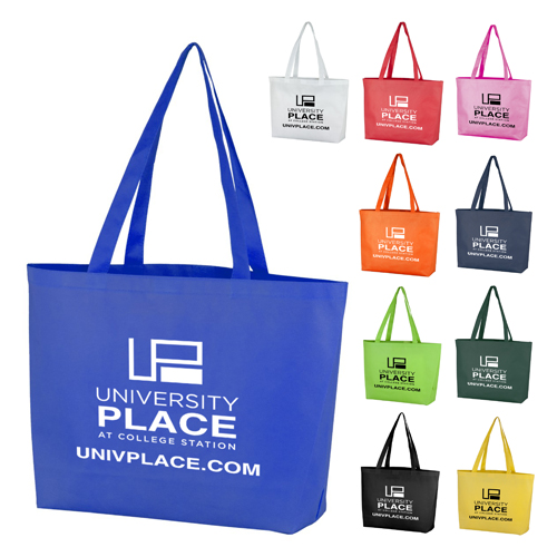 Promotional Large Convention Tote Polytex
