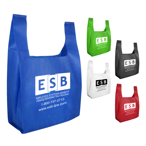 Promotional  Non-Woven Lite Grocery Bag