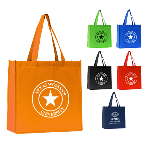 Promotional Polytex Grocery Tote