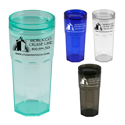 Promotional Casablanca Tumbler with 2Go Lid