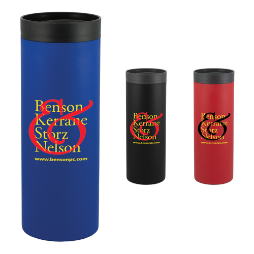 Promotional Caspian Double Wall Plastic Tumbler - 18 oz