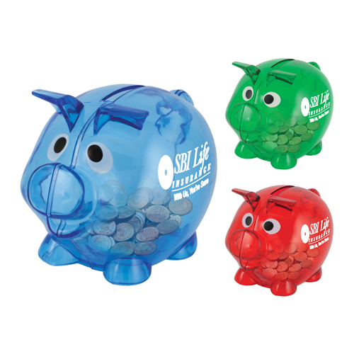 View Image 2 of Lil Billie Small Piggy Bank
