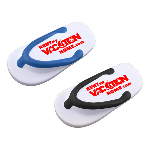 Promotional Flip Flop Shaped Stress Reliever