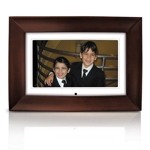 Promotional Mahogany Digital Frame