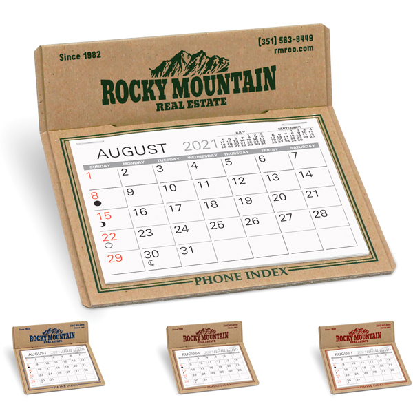 Promotional Forest Desk Calendar