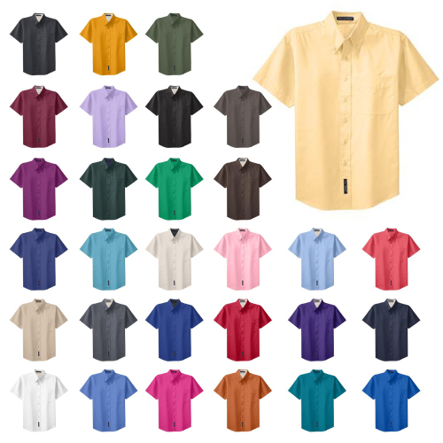 Promotional Short Sleeve Easy Care Shirt