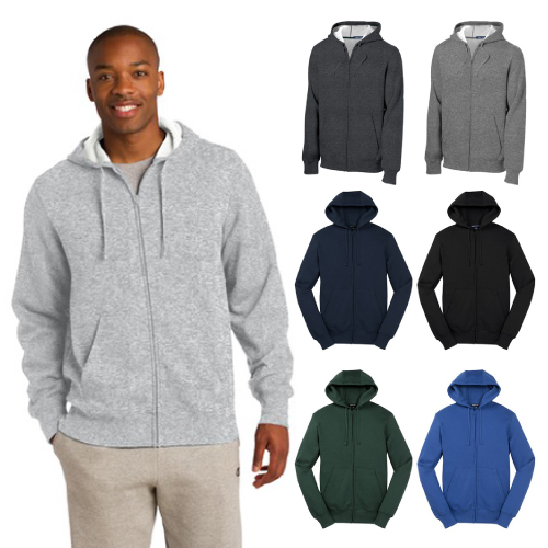 Promotional Full Zip Hooded Sweatshirt