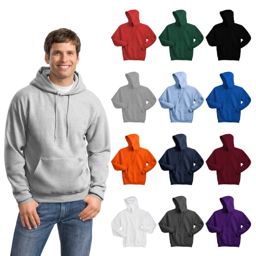 Promotional Hanes- Pullover Hooded Sweatshirt