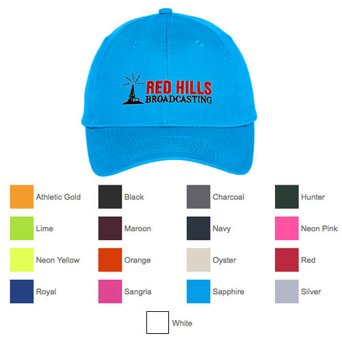 Promotional Port & Company® Six-Panel Unstructured Twill Cap