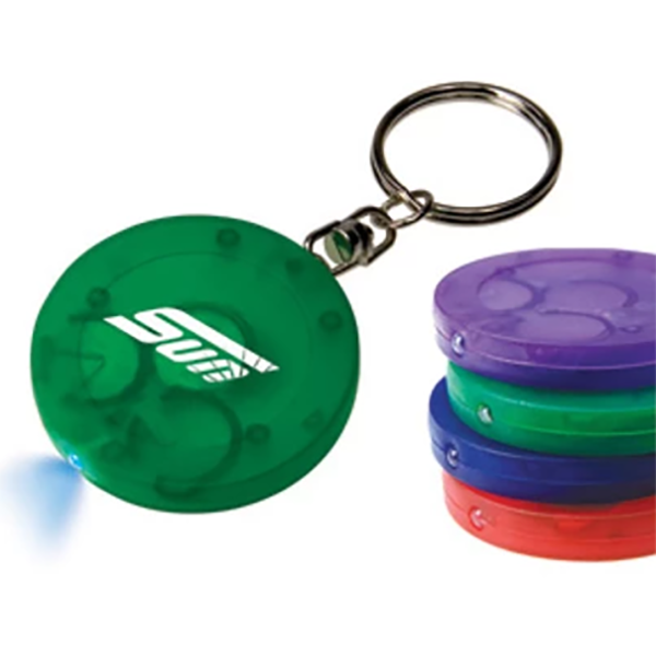 Promotional Chip Light Keychain